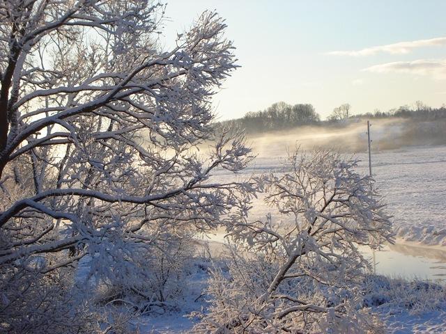 zem sniega segas