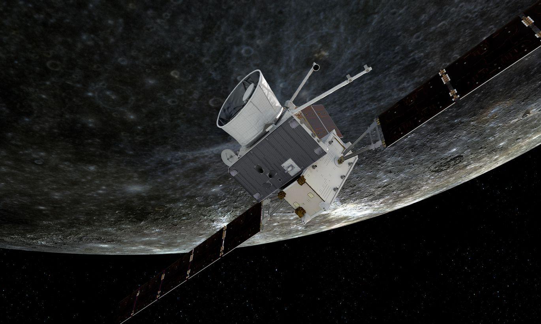 Zonde «BepiColombo» nosūtījusi uz Zemi pirmo fotoattēlu no Merkura