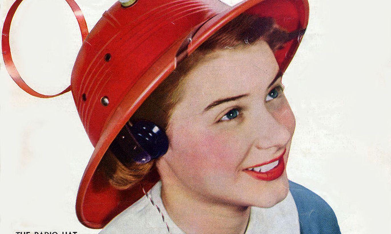 Visdīvainākais izgudrojums 1949. gadā – radio cepure