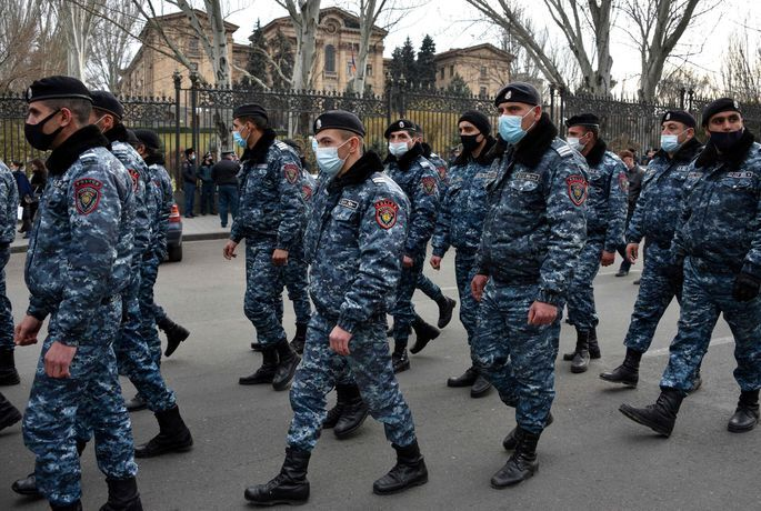 Karastāvoklis atcelts Armēnijā