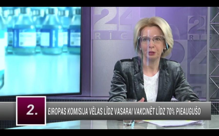Video: Mūrnieci pārteidz, ka vairums sabiedrības vēlas, lai politiķi pret Covid-19 vakcinējas pirmie