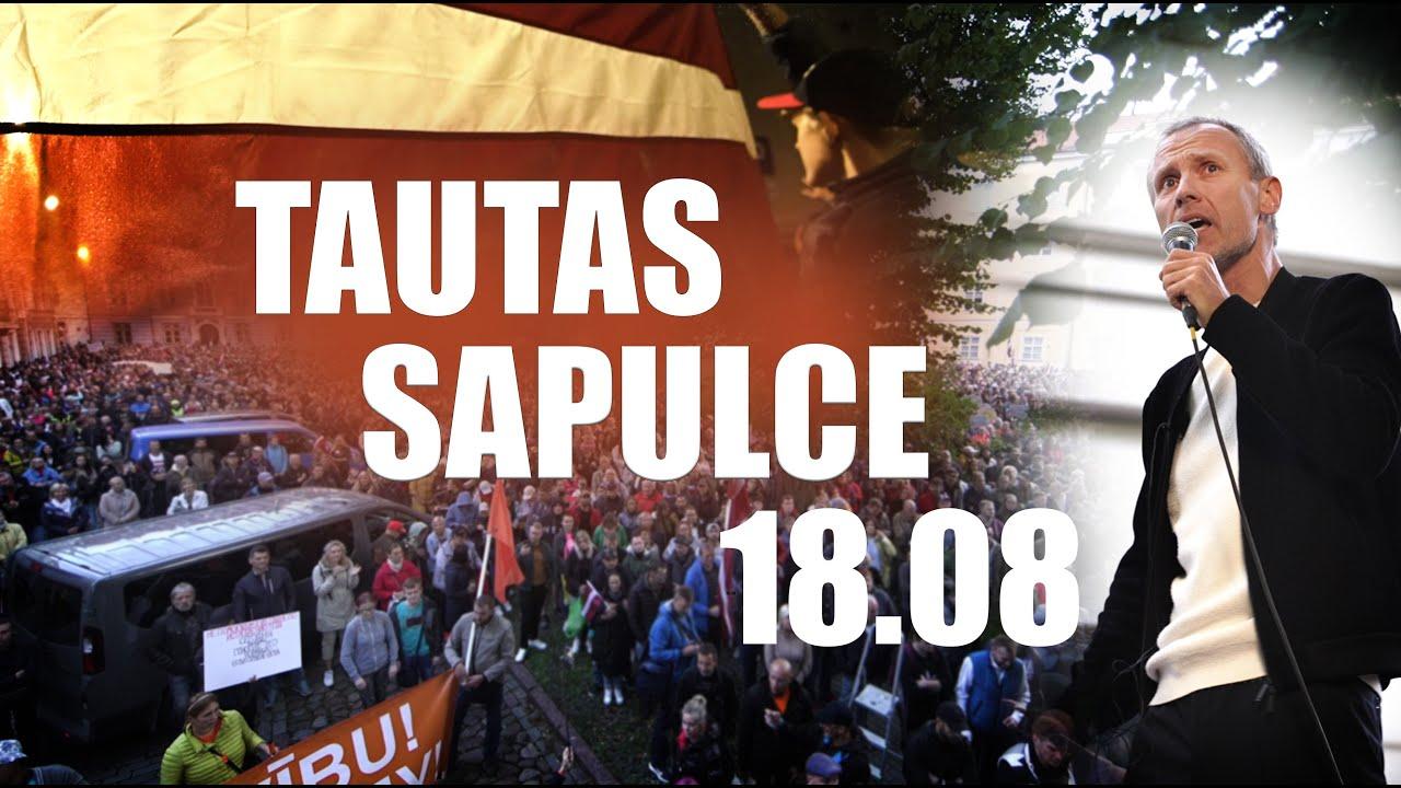 Tautas sapulces 18.08.2021 neatkarīgas televīzijas video (apkopojums) | EdArtTV