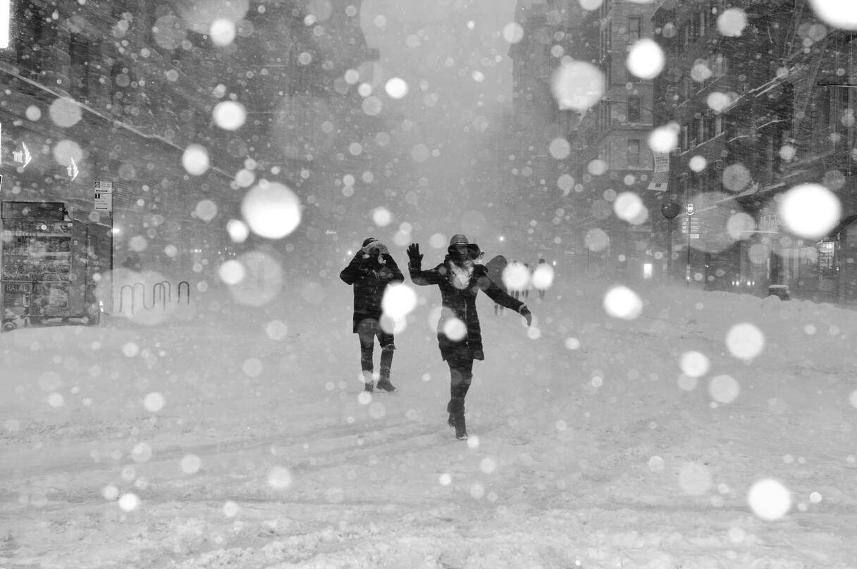 Izsludināts oranžais brīdinājums: Latvijai tuvojas stiprs sniegs