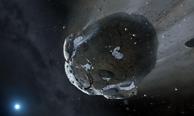 Nedēļas nogalē Zemei garām palidos gigantisks asteroīds