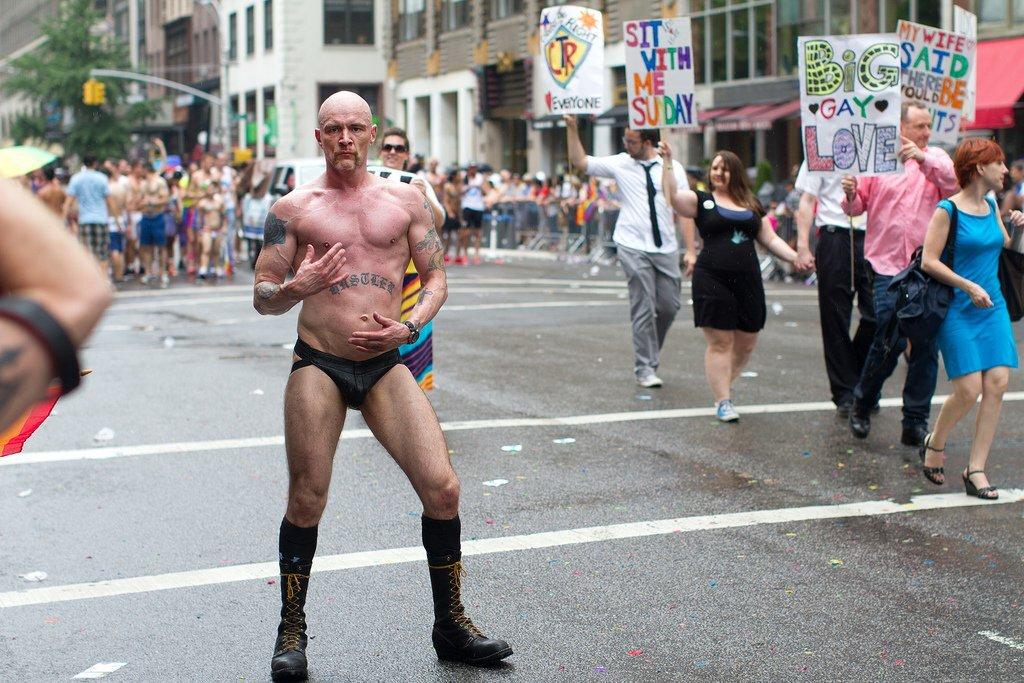 Nerēķināšanās ar sabiedrības vairākuma attieksmi pret LGBT uzbāzību rada tikai un vienīgi pretestību un nepatiku