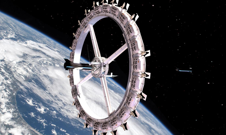 Pirmajā kosmosa viesnīcā apmesties varēs jau 2027. gadā