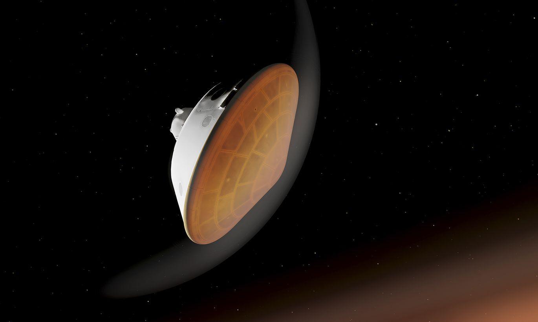 """Video: NASA parāda, kā zonde """"Neatlaidība"""" nosēdīsies uz Marsa"""