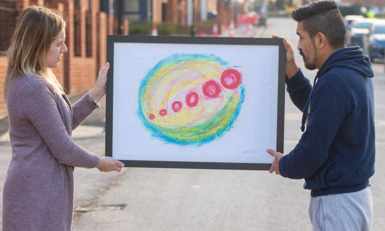 Vīrietis atklāj, ka par 1 dolāru pirktā glezna ir potenciāli 10 tūkstošus streliņu mārciņu vērta
