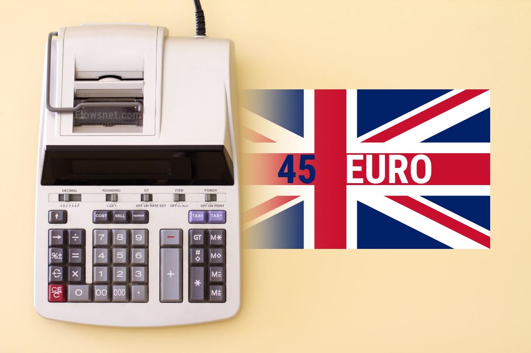 Virs 45 eiro vērtām precēm no Lielbritānijas būs jāmaksā muitas nodoklis un PVN